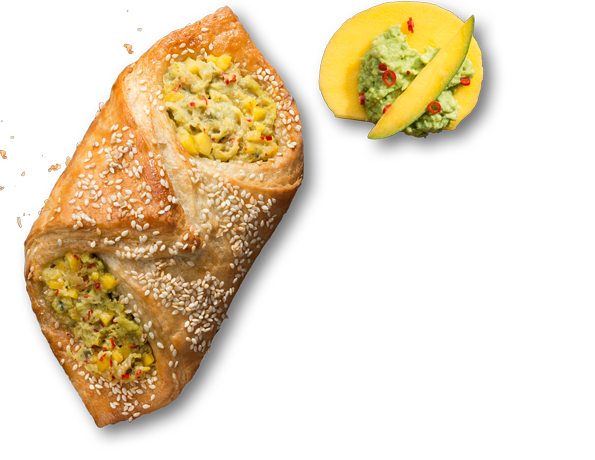 Bakerman Snacki <br> Avocado-Mango 125g